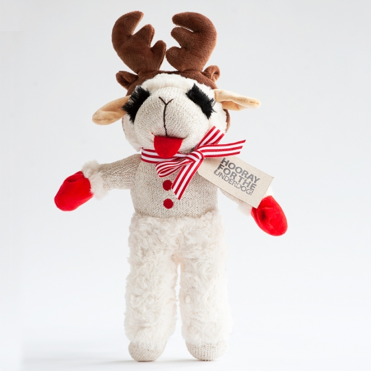 Lamb Chop With Antlers Hooray For The Underdog